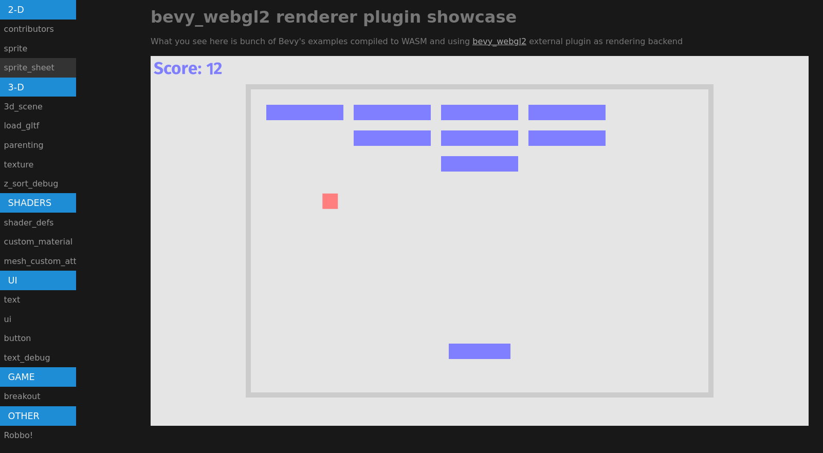 webgl2 showcase